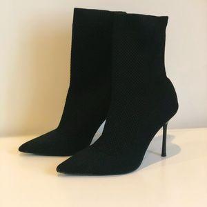 Zara Knit Sock Booties - Size 38